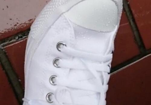 梅雨の時期 スニーカーなど靴の汚れを気にせず撥水・防汚・劣化予防! G-POWER スニーカーコーティング (シューズコーティング トレラン)